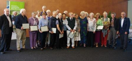 Award recipients of Seniors Awards